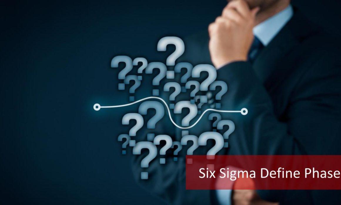 Describe the Lean Six Sigma Define Phase-Maximum Potential