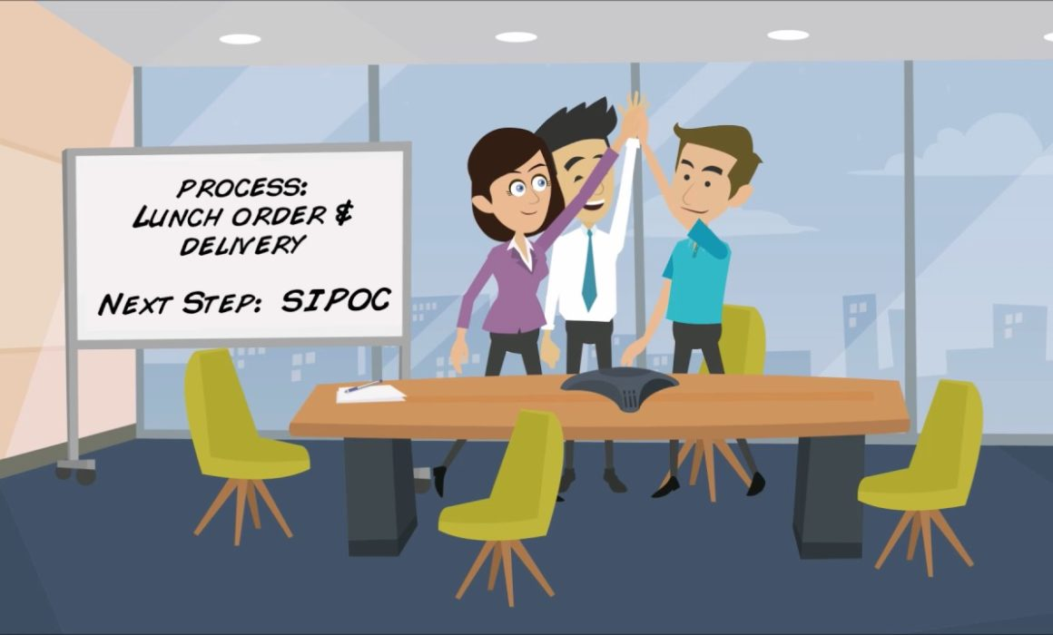 Describe the SIPOC Process in Lean Six Sigma-Maximum Potential